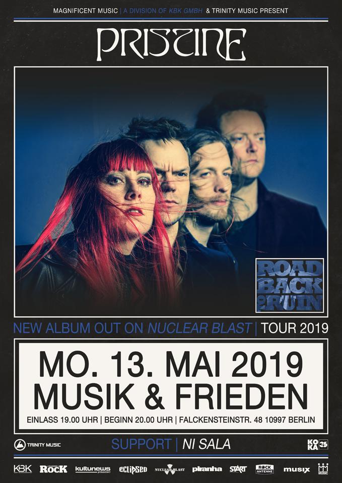 PRISTINE - 13.05.2019 - DE Berlin, Musik & Frieden