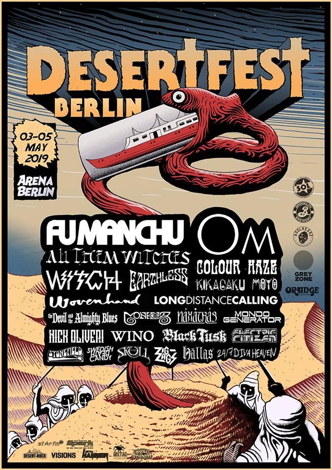 STONEFIELD - 05.05.2019 - DE Berlin, Desertfest Berlin