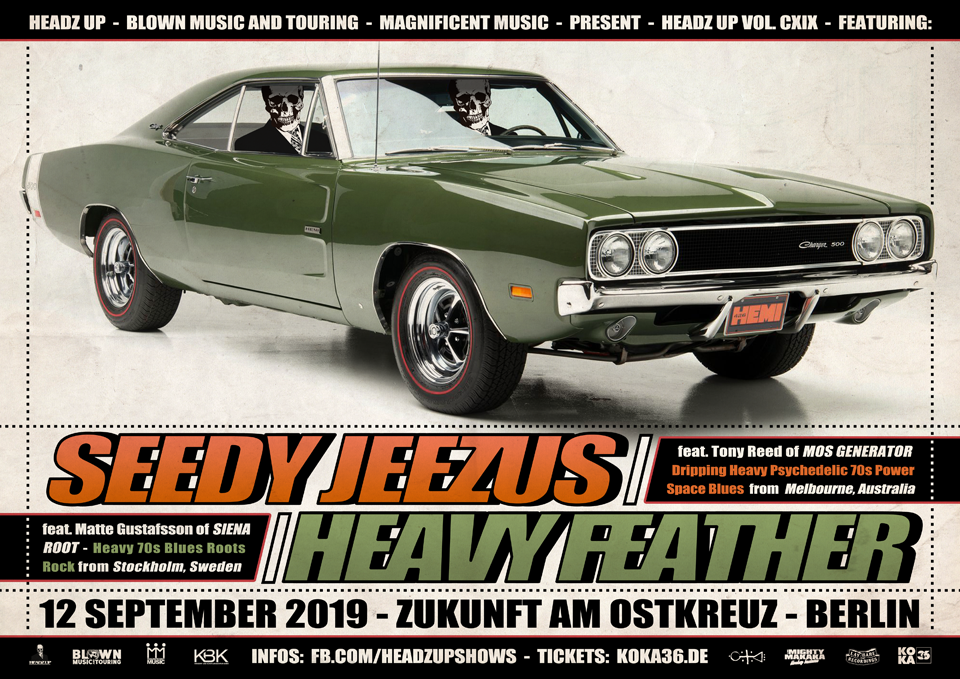 HEAVY FEATHER - 12.09.2019 - DE Berlin, Zukunft Garage