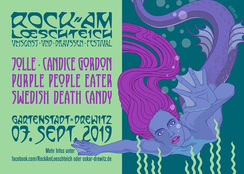 Swedish Death Candy - 07.09.2019 - DE Potsdam, Rock am Löschteich