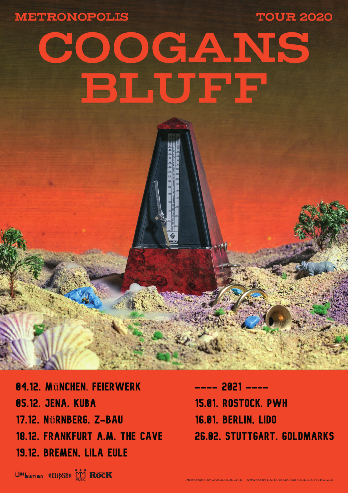 COOGANS BLUFF & EAT GHOSTS - 16.01.2021 - DE Berlin, Lido