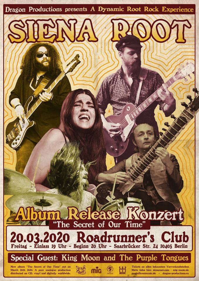 SIENA ROOT -- Album Release Konzert